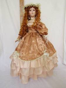 ALEXANDRA COLLECTION PORCELAIN DOLL