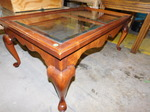 Queen Anne style coffee table...