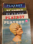 Stack of assorted 1960s Playboy Mag...