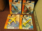 Set of 4 Matchbox airplane collecti...