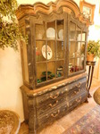 Gorgeous lighted china cabinet w/sh...