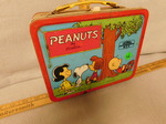 Peanuts vintage lunchbox w/thermos...